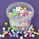 Purple Cupcakes 7mm Pearls - Rainbow - 90g